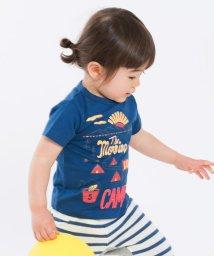 SHIPS KIDS/SHIPS KIDS:クライミング プリント TEE(80~90cm)/500837713