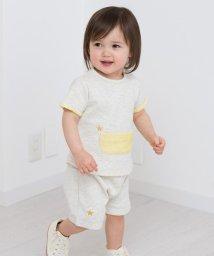 SHIPS KIDS/SHIPS KIDS:ミニ 裏毛 セット ロンパース/500837719