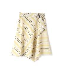 PROPORTION BODY DRESSING/ストライプアシンメトリースカート/500837859