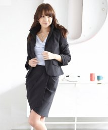YUMETENBOU/ストレッチ変形スカートスーツ/500824677