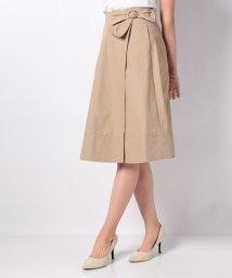 UNIVERVAL MUSE/ウエストリボンラップ風スカート/500834984