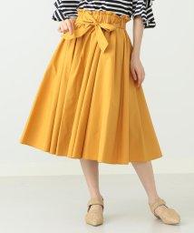 BEAMS OUTLET/Ray BEAMS / リボン ベルト ギャザー スカート/500838214