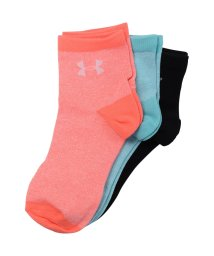 UNDER ARMOUR/アンダーアーマー/レディス/18S UA WOMENS 3P SHORT SOCKS/500838947