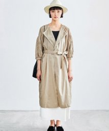 KAGURE/Tulle Embroidery Onepiece/500840056