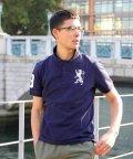 GIORDANOM/3Dライオン刺繍ポロシャツ/500681168