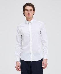 SISLEY/サテンストレッチドレスシャツ/500809145