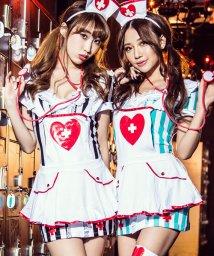 Dita/costume【コスチューム】コスプレ/ストライプエプロンナース/500841961