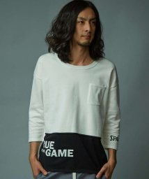 5351POURLESHOMMES/true to the game Tシャツ/500842012