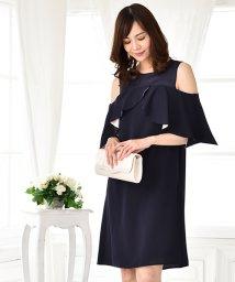 form forma/【結婚式ワンピース・ゲストドレス・パーティ】オフショル配色ワンピース/500807425