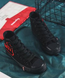 miniministore/スニーカー レディース ハイカット スニーカー ローカット 刺繍 靴 歩きやすい/500822586