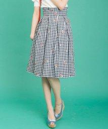 31 Sons de mode/【Ray7月号掲載/CanCam6月号掲載】花刺繍スカート/500842039
