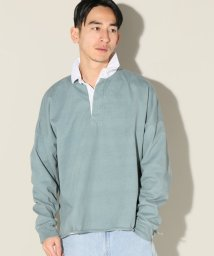 JOURNAL STANDARD relume Men's/【MADE IN USA】14/2 ドロップショルダーラグビーシャツ/500843687