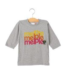 SHIPS KIDS/melple:プリント 7分袖 TEE(100~160cm)/500845359