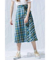 PROPORTION BODY DRESSING/《BLANCHIC》タータンチェックフレアスカート/500845476