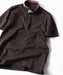 SHIPS MEN/SC: コットン ドライ ミニ バンドカラー ポロシャツ/500846787