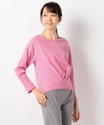 ICB(LARGE SIZE)/【洗える】Synthetic Georgette カットソー/500846936