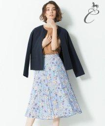 JIYU-KU /【Class Lounge】BOUQUET PRINT スカート(検索番号Y56/500846978