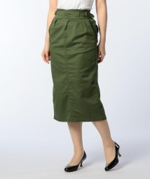 Rie Miller/ツイルストレッチグルカタイトスカート/500838051