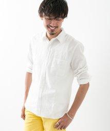 URBAN RESEARCH/【ROSSOMEN】7分袖リネンシャツ/500838291