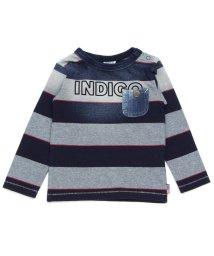 BREEZE / JUNK STORE/ポケット付インディゴTシャツ/500843795