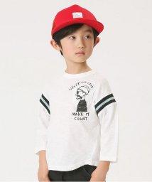 BREEZE / JUNK STORE/ポケット付ラインリブTシャツ/500843796
