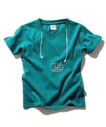 devirock/全16柄 だまし絵プリント半袖Tシャツ カットソー/500843935