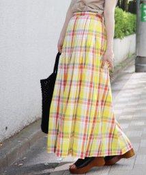 JOURNAL STANDARD/《WEB限定》JS+eマドラスチェックマキシスカート◆/500850057