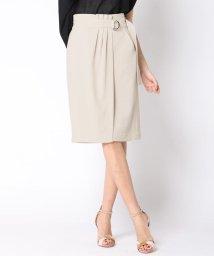 VICKY/ベルト付ラップタイトスカート/500834506