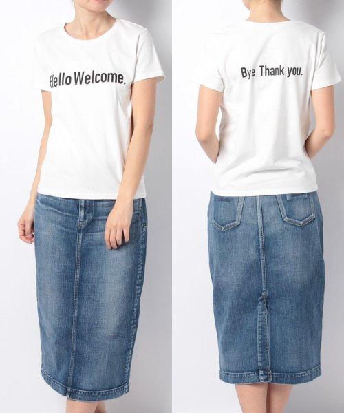 en recre(アン レクレ)/【GALENA】  プリントTシャツ/6801290