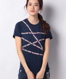 FILA/FILAプリント半袖Tシャツ/500830547