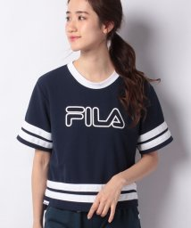 FILA/FILA鹿の子メッシュ半袖Tシャツ/500830558