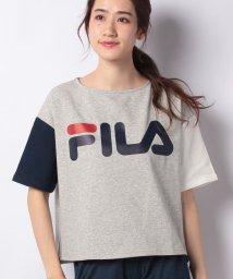 FILA/FILAスエット裏メッシュ半袖Tシャツ/500830559