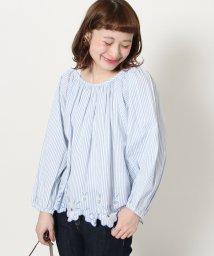 coen/【Market】スカラップ刺繍ブラウス(エンブロイダリーブラウス)/500840481