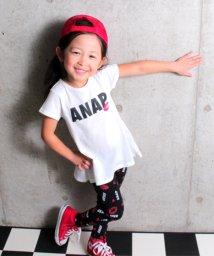 ANAP KIDS/Tシャツワンピース&リップレギンス SET/500841973