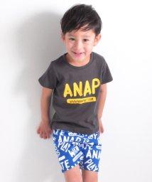 ANAP KIDS/Tシャツ&ミニ裏総柄パンツ SET/500843637