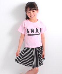 ANAP KIDS/Tシャツ&ナナメストライプスカート  SET UP/500843638