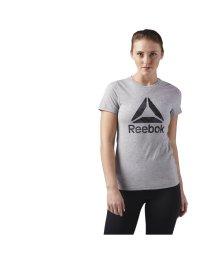 Reebok/リーボック/レディス/WOR DELTA ロゴ グラフィック ショートスリーブTシャツ/500851924