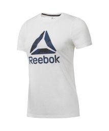 Reebok/リーボック/レディス/WOR DELTA ロゴ グラフィック ショートスリーブTシャツ/500851926