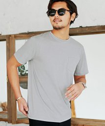 CavariA/CavariA【キャバリア】ポケット付きクルーネックTシャツ/500853019
