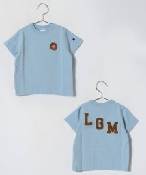 LAGOM/Champion別注サル刺繍TEE/500841053
