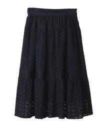31 Sons de mode/【sweet4月号掲載】コットン刺繍スカート/500851569