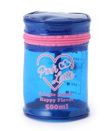 PINK-latte/筒型ビニールポーチ/500854432
