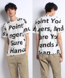 STYLEBLOCK/綿100%ビッグシルエットビックロゴプリントTシャツ/500835312