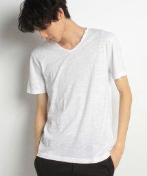 BENETTON (mens)/スラブV半袖Tシャツ・カットソー/500838433