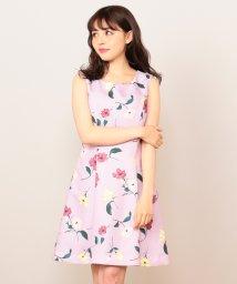 MIIA/【WEB・ルミネ店限定】タックデザインAラインワンピース/500856806