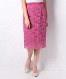 JUSGLITTY/カラーロングレースタイトスカート/500857070