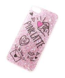 PINK-latte/ロゴラメiPhoneケース/500857237