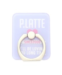 PINK-latte/ハートロゴスマホリング/500857239