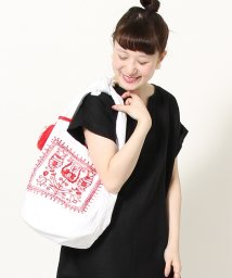 coen/【Market】エンブロイダリー刺繍ワンショルダーバッグ/500857475