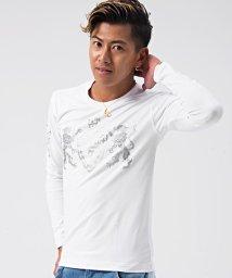 VIOLA/VIOLA【ヴィオラ】プリント入りクルーネック長袖Tシャツ/500857506